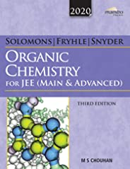 Wiley's Solomons, Fryhle & Snyder Organic Chemistry for JEE (Main & Advanced), 3ed, 2020