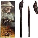 The Noble Collection - Penna Bastone di Gandalf E Segnalibro - 23cm Penna Bastone di Gandalf di Alta qualità in PVC con Segna
