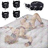 Dream-D Esposas de tobillo con colchón de cualquier tamaño, kit de constricción para cama de colchón