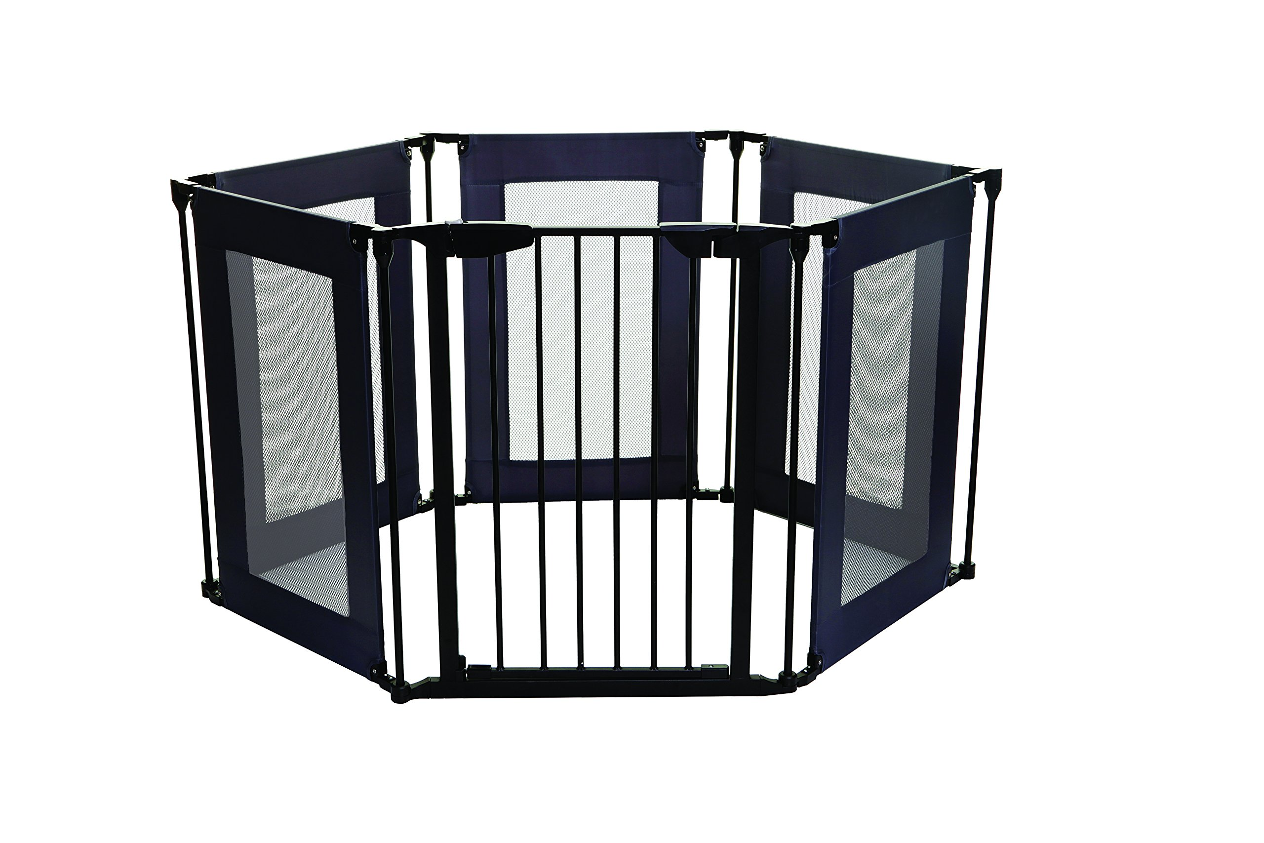 Dreambaby Brooklyn 3-in-1 Converta Dreambaby 6 modular panels including covenient walk-through gate Arrange panels to your specific layout Can be used as either a play-pen or extra-wide barrier gate 1