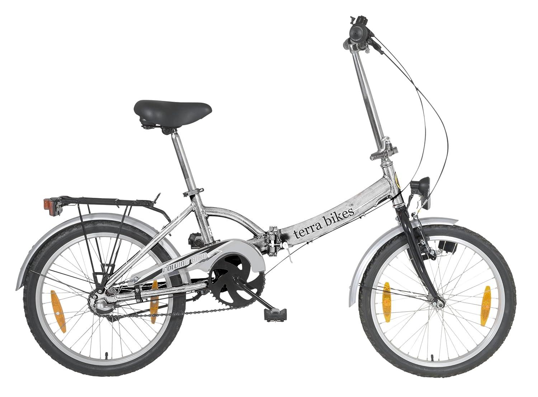 Bicicleta Terrabike desplegada