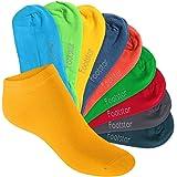 Footstar SNEAK IT! KIDS - 10 pares de calcetines tobilleros para niños - Calidad de celodoro - Disponibles en varios colores