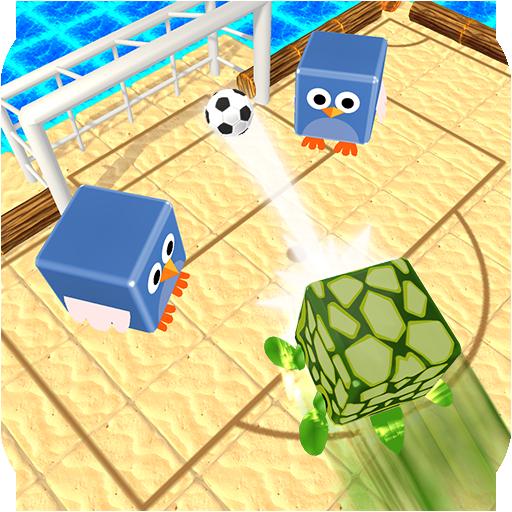 Tierfußball: Spaß Stampede - Haustier Fußballspiel (Fußball-simulator)