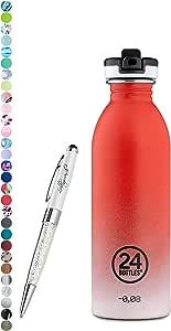 Contenuto:250 ml 24 Bottles Bottiglia di acqua Urban 250 ml Colore:tuxedo black 1000 ml colori diversi 24bottles 500 ml