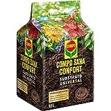 Compo Sana Confort Universal Calidad para macetas con 12 semanas de abono para Plantas de Interior, terraza y jardín, Substra
