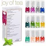 """Ronnefeldt Joy of Tea Box, Tee Probierset/Tee Geschenk""""Twelve Delights"""" mit 12 Aufgussbeuteln zum Kennenlernen, 33,8 g"""