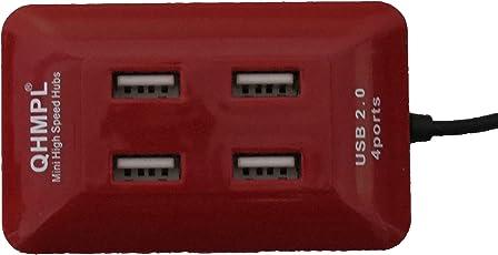 QUANTUM RED 100% ORIGINAL PRODUCT 4 PORT USB HUB