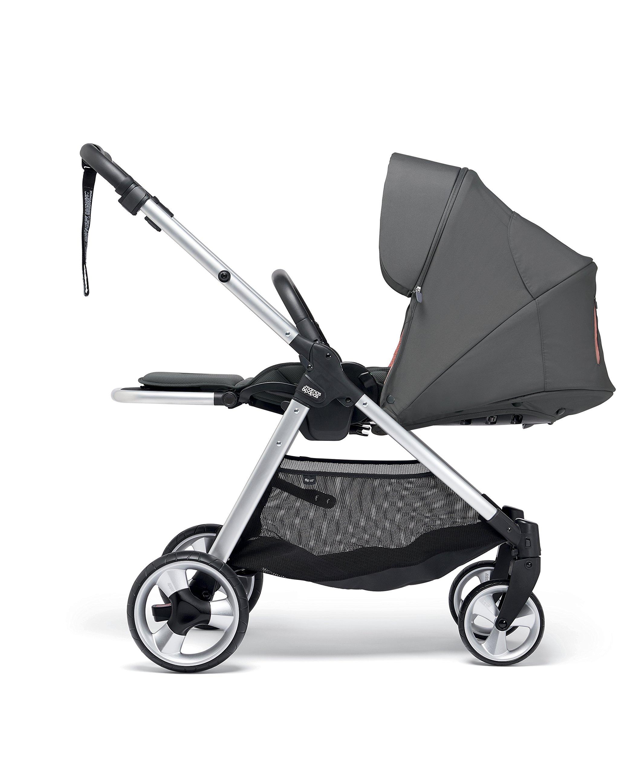 Mamas & Papas Flip XT2 Pushchair, Grey/Coral Mamas & Papas  2