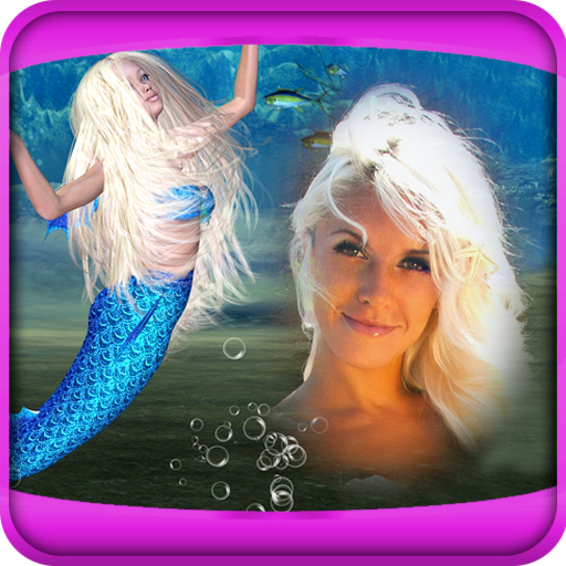 Mermaid Bilderrahmen