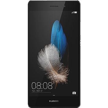 "Huawei P8 Lite Smartphone, Display 5"" IPS, Processore Octa-Core 1.2 GHz, Memoria Interna da 16 GB, 2 GB RAM, Fotocamera 13 MP, monoSIM, Android 5.0, Nero [Italia]"