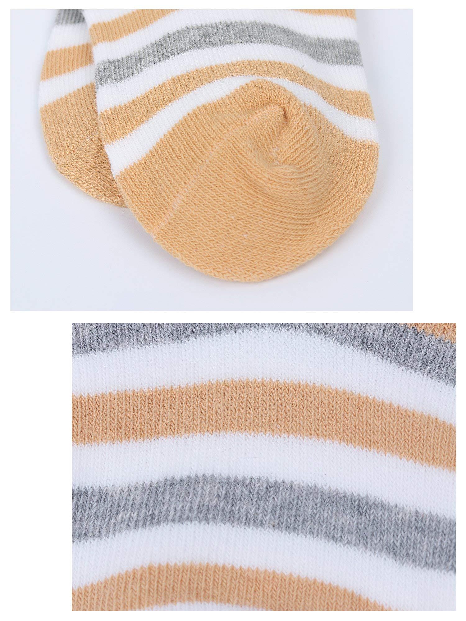 DEBAIJIA Niños Niñas Calcetines De Algodón Cómodo Suave Jogging Absorben el Sudor Antibacteriano primavera verano otoño… 3