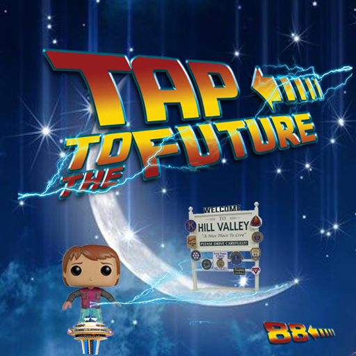 Tap to the Future - The most addictive Back to the Future Hoverboard Game