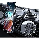 VANMASS Handyhalterung Auto 2021 upgrade Version Handyhalter fürs Auto 3 in 1 Kfz Handyhalterung Lüftung & Saugnapf Halter 10