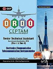 DRDO CEPTAM Senior Technical Assistant Tier I & II - Electronics, Communication, Telecommunication & Instrumentation