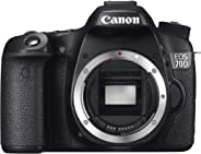 Canon EOS 70D Body Only Camera (20.2 MP, 3.0 inch LCD) - Black (Renewed)