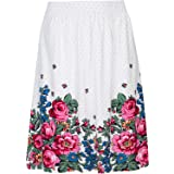 Vive Maria Piroshka's Kiss Skirt Bianco Allover