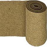 HaGa® Natur-Fell-Shop - Felpudo de coco (0,5 m de ancho, 600 g/m², protección perfecta para el invierno, 100% natural