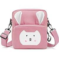 Wodasi Umhängetasche Kinder Mädchen Kleine Süße Handtaschen Kinder Prinzessin Mini Taschen Handtasche Mädchen Klein Hase…