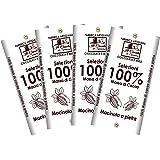 Set Tavolette MASSA DI CACAO 100% - 4pz da 140gr (560gr)- Cioccolato Fondente 100% Artigianale MADE IN ITALY - Il Casale Di S