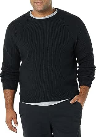 Amazon Essentials Herren Long-Sleeve Soft Touch Crewneck Sweater Pullover