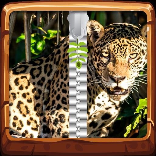 Jungle Animals Zipper Desbloquear