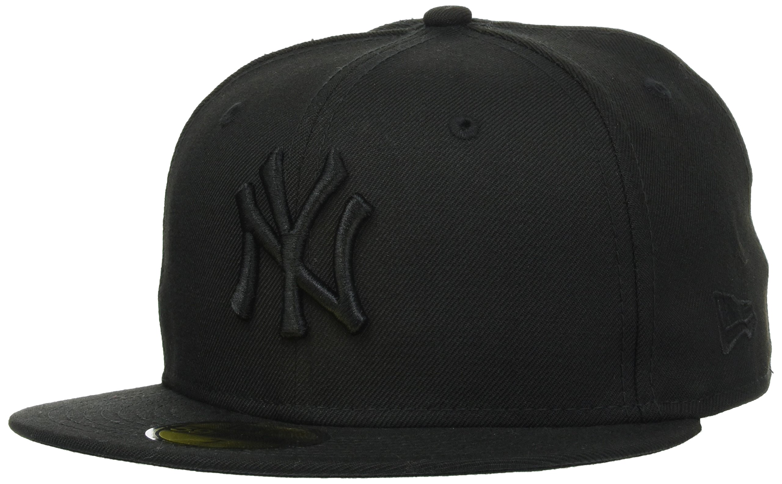 NEW ERA 59 FIFTY NY YANKEES CAPPELLO CON VISIERA COLORE NERO BLACK BLACK 002f15f9f97f