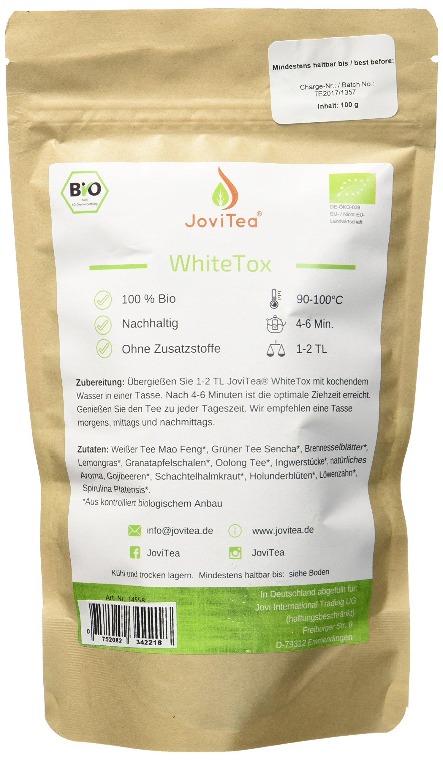 JoviTea-WhiteTox-BIO-Tee-14-Tage-Body-Tee-50-Portionen-100-natrlich-und-zuckerfrei-Leckere-Kruter-und-Fruchtmischung-100g