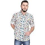 GUNIAA Men's Regular Fit Casual Shirts