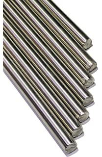 Edelstahl Rundstahl 10mm L 1850-2200 mm geschliffen Stab Welle 1.4301 V2A
