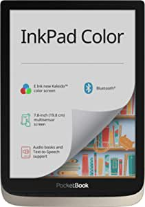 Pocketbook E Book Reader Inkpad Color 7 8 Inches Moon Computers Accessories