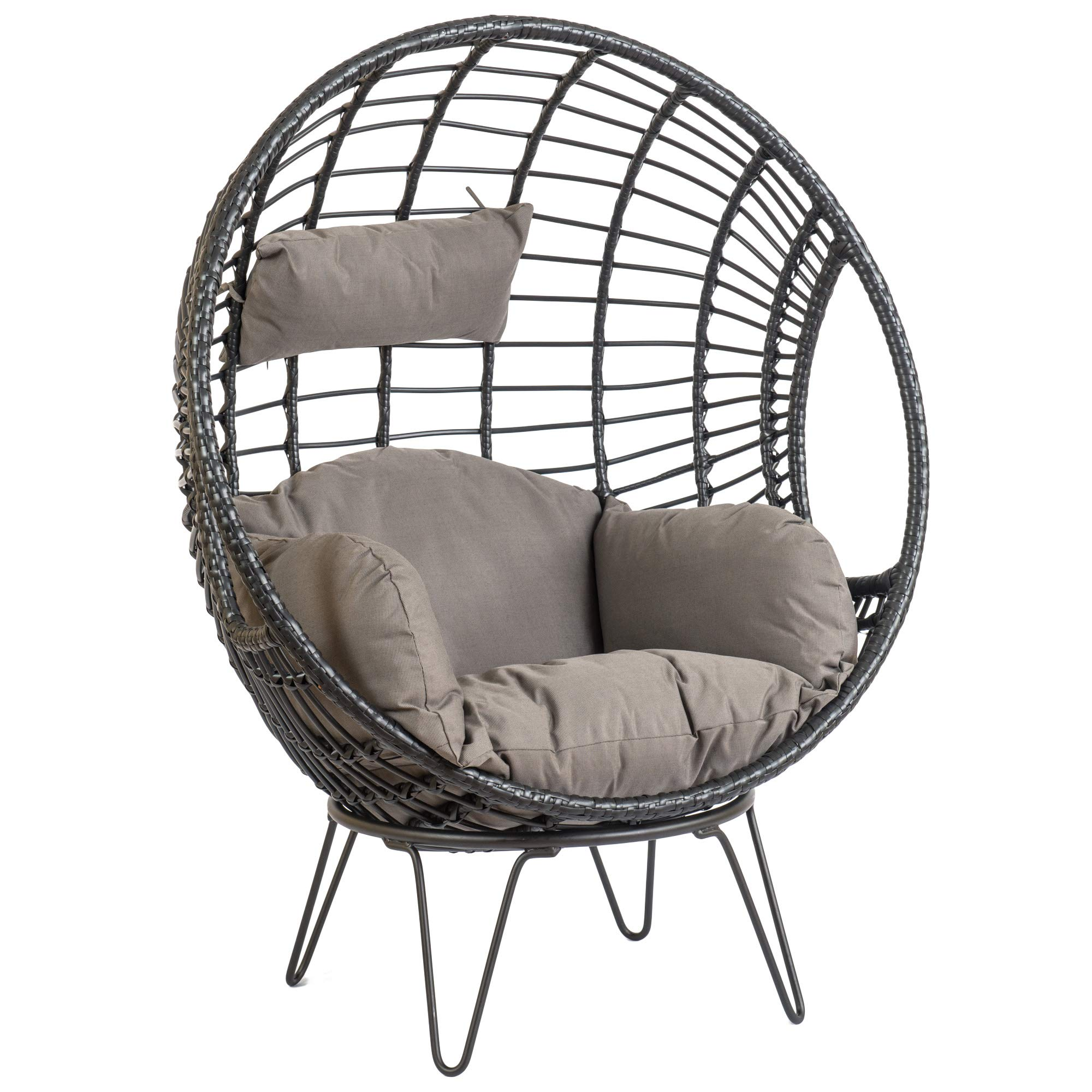 6 Super Outdoor Hanging Egg Chair - ASTONSHEDSUK