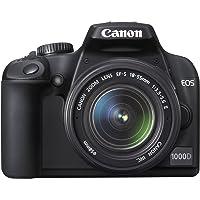 Canon EOS 1000D SLR-Digitalkamera (10 MP, LiveView, Kit inkl. EF-S 18-55 Objektiv)