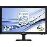 Philips 273V5LHSB/00 68,6 cm (27 Zoll) Monitor (VGA, HDMI, TN Panel, 1920 x 1080, 60 Hz, ohne Lautsprecher) schwarz