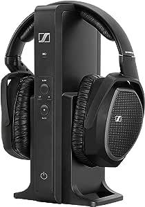 Sennheiser Rs 175 Over Ear Funkkopfhörer Hifi Surround Sound Schwarz