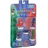 Pj Masks Stampers Blister 5 (S1) - Owlette, Ninjalinos, Cat Car, Catboy, Gekko