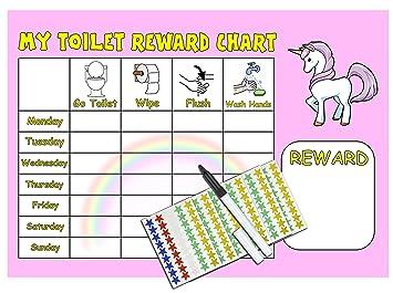 toilet training reward chart