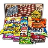 Heavenly Sweets Cesto di Cioccolatini e Caramelle Americane - Classici Dolci Americani, Regalo Ideale per Bambini e…