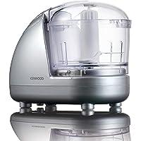 Kenwood CH185 Mini Chopper,0.35L dishwasher safe bowl, 2 speeds, rubber feet for stability, 300W, Silver