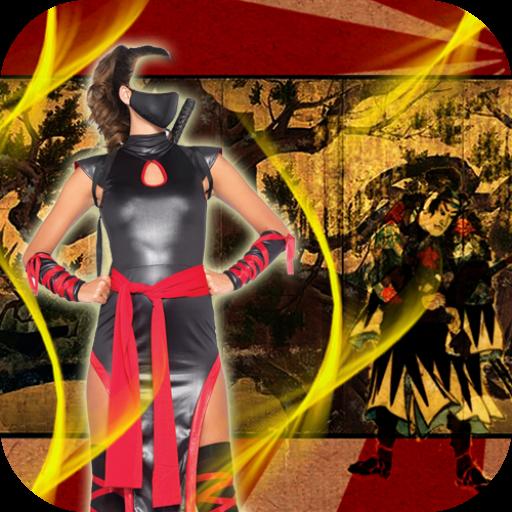 Samurai Montage Suit (Blitz Kostüm Sie Stellen)