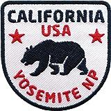 80 X 50 Mm Usa Kalifornien Sacramento California Flagge Patch Aufnäher Aufbügler 0969 X Auto