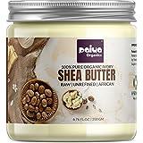 Paiya Organics® 200gm Raw Unrefined Organic Shea Butter For Skin Face Hair & Stretch Marks