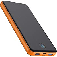 HETP Powerbank 26800mAh - Schnellladung PD Ladegerät【Quick Charge 3.0 Power Delivery】 Externer Akku Pack 3-Ausgang & 2…