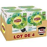 Lipton Thé Vert Marrakech Menthe, Capsules Compatibles Nescafé Dolce Gusto, Label Rainforest Alliance 48 Capsules (Lot de 4x1