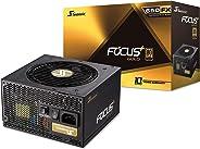Seasonic FOCUS Plus 550 Gold SSR-550FX 550W 80+ Gold ATX12V & EPS12V Full Modular 120mm FDB Fan 10 Year Warranty Compact 140