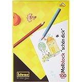 Idena 10390 Blok Do Malowania FSC-Mix, Rozmiar A4, 100 arkuszy, 1 sztuka, Biały
