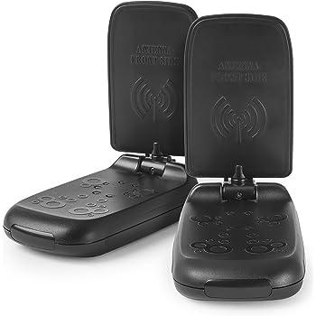 Meliconi AV 100 Mini Trasmettitore di Segnali Audio/Video Senza Fili, Banda di Trasmissione 5.8 Ghz, Nero