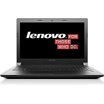 Lenovo Office Laptop mit mattem 15,6 Zoll Full-HD Display mit Intel Dual-Core i5 CPU, 1000GB Festplatte (HDD), 4GB Arbeitsspeicher, DVD-Brenner und Windows 10 (B50-80)