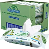 My Happy Planet 100% Biodegradable, Plastic Free Baby Wet Wipes - 99.9% Purified Water - Hypoallergenic - No Fragrance…