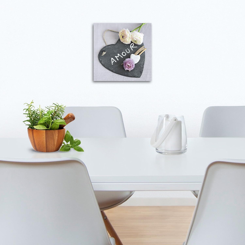 Eurographics 20 x 20 cm Amour Deco Glass: Amazon.co.uk: Kitchen & Home
