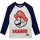 Super Mario Camiseta de Manga Larga para niños